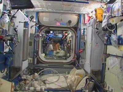 Inside the International Space Station. Spotted this on Slashdot yesterday.